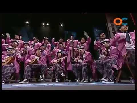 Sesión de Preliminares, la agrupación El teatro de verano actúa hoy en la modalidad de Coros.