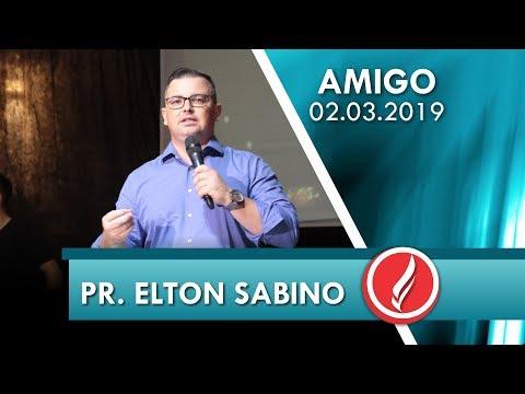 Pr. Elton Sabino | Seja íntimo de Cristo | Ct 5.2-6 | 02 03 2019