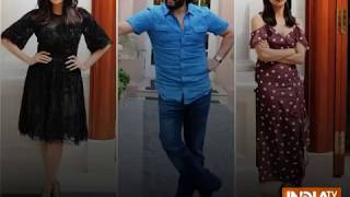 Saif Ali Khan, Chitrangada Singh, Radhika Apte dazzle at Bazaar promotions in Delhi - INDIATV