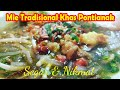 Mie sagu, Makanan Tradisional Khas Melayu Pontianak Kalbar