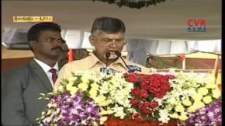 CM Chandrababu Speech @ Independence Day Celebrations in Srikakulam | CVR News - CVRNEWSOFFICIAL
