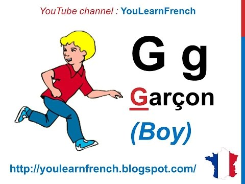 French lesson 1 - Learn French Alphabet - Alphabet Français Alfabeto Cursos Clases de Frances