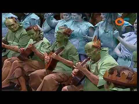 Sesión de Preliminares, la agrupación Sanlucar actúa hoy en la modalidad de Coros.