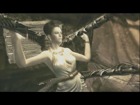 "Resident Evil 5 Gold Edition: (HD) ""Mercenaries Reunion"" (Tricell) Excella Gionne Deaths Ryona!"