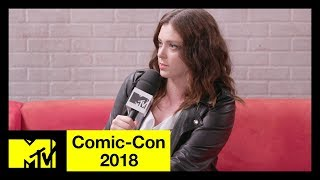 'Crazy Ex-Girlfriend' Creator Rachel Bloom on the Final Season | Comic-Con 2018 | MTV - MTV