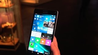 Microsoft Lumia 950, 950 XL usher in Windows 10 for phones - CNETTV