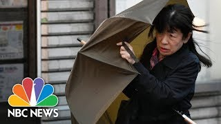 Deadly Typhoon Lan Hits Japan With Floods And Landslides, At Least Three People Dead | NBC News - NBCNEWS