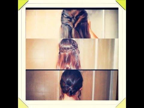Hairstyle: 3 modele flokesh te thjesht per cdo rast :)