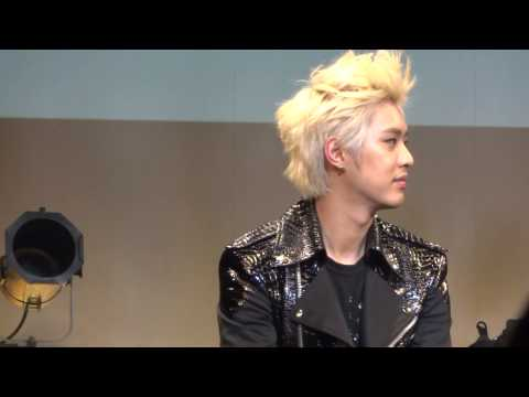 130517 MBLAQ MONA LISA release event talk time Seungho Focus