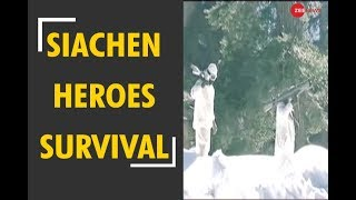 Deshhit: Watch how heroes of Siachen survive in minus 60 degree conditions - ZEENEWS