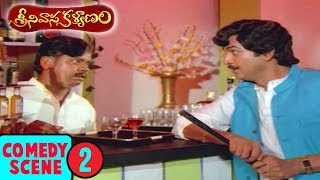 Srinivasa Kalyanam Movie Comedy Scene 2 | శ్రీనివాస కళ్యాణం |  Venkatesh | Bhanupriya | Gowthami - RAJSHRITELUGU
