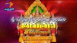 Teerthayatra - Sri Subramanyeswara Swamy Temple Thiruthani Tamil Nadu - తీర్థయాత్ర - 27th October 2014 - ETV2INDIA