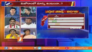 Debate On Lagadapati Rajagopal Exit Polls on Telagnana Elections | Part-2 | iNews - INEWS
