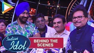 Behind The Scenes: Taarak Mehta Ka Ooltah Chashmah on the sets of INDIAN IDOL - HUNGAMA