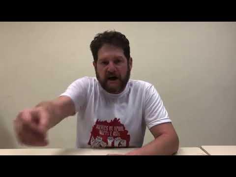 Sérgio Antiqueira, fala sobre os próximos passos da mobilização por valorização já!