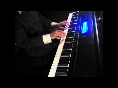 BBC Sherlock - Sherlock's Theme - on piano (The Science of Deduction) [Classic Dark Style]