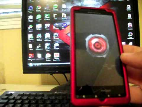 GingerBreak one click ROOT ANY Gingerbread 2.3.3 Android Device Tutorial, How to Droid X DroidX