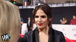 'How To Get Away With Murder's' Karla Souza On Working With Viola Davis! - HOLLYWIRETV
