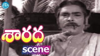 Sarada Movie Scenes - Rao Gopal Rao Narrates Sharada's Flashback || Allu Ramalingaiah - IDREAMMOVIES