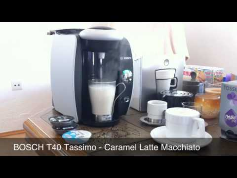 Tassimo Coffee Brewer Bosch T40