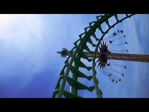 Boomerang front seat on-ride HD POV Six Flags St. Louis