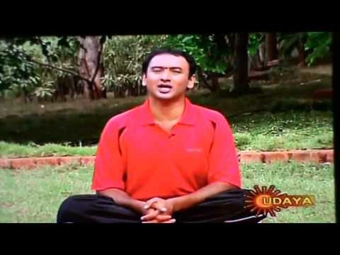 YOGA FOR CYSTS IN THE BODY (Lipoma Yoga Treatments)  By N.SHESHAGIRI. UDAYA TV
