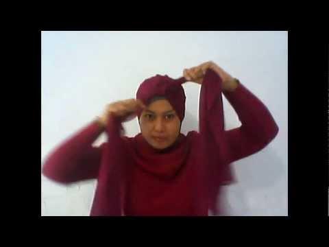 Cara Memakai Jilbab Modern | Kreasi Jilbab Modern
