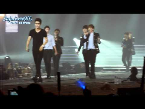 [HQ-720p][Live] 120406 SS4Paris - Siwon's and Eunhyuk's Birthday celebration with Water