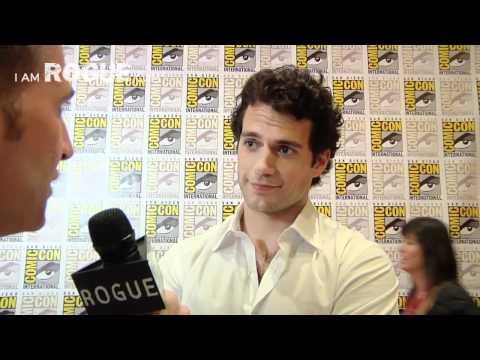 SDCC 2011 EXCLUSIVE VIDEO: Henry Cavill Talks 'Superman: Man of Steel'