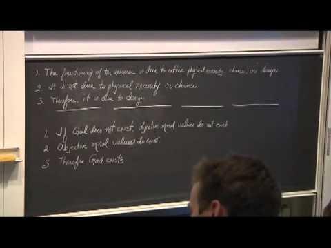 The Problem of Suffering and Evil (3) - William Lane Craig at Aalborg University