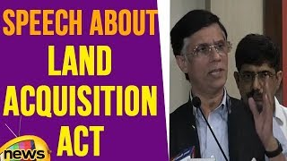Pawan Khera Speech About Land Acquisition Act | Mango News - MANGONEWS