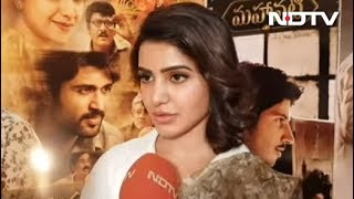 Pics Of Keerthy Are Shocking, She Was Meant To Be Savitri: Samantha Ruth Prabhu - NDTV