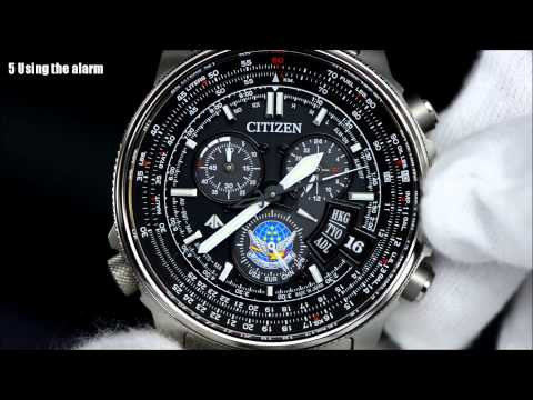 citizen e650 setting instructions