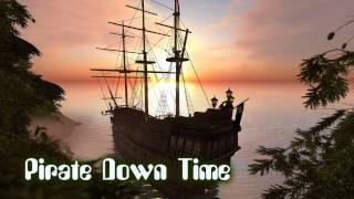 Royalty Free :Pirate Down Time