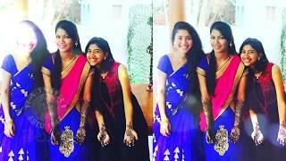 Sai Pallavi With Sister Pooja Kannan Images | Sai Pallavi At Her Sister Mehendi Function - RAJSHRITELUGU