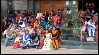 Gandhi Hospital Outsourcing Employees Protest Over Pending Salaries| Hyderabad | CVR News - CVRNEWSOFFICIAL