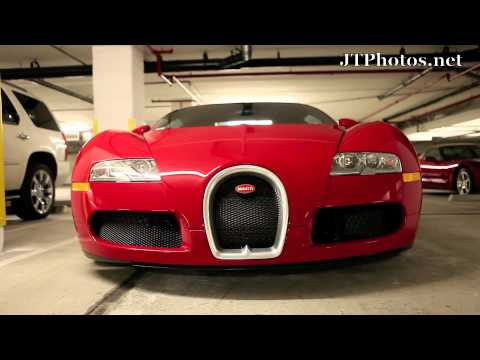 Birdman's Bugatti Veyron up close