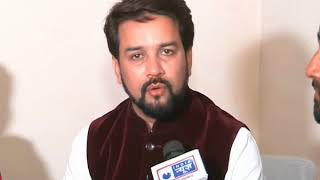 NewsX Exclusive: BJP' Anurag Thakur speaks over Gujarat Assembly Elections 2017 - NEWSXLIVE