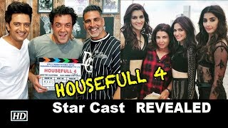 "REVEALED: ""HOUSEFULL 4"" Star Cast 