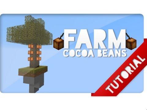 Farm de Cacau semi-Automatica! - Redstone Tutorial 35