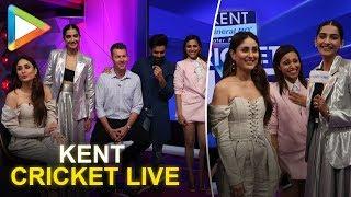 Veere Di Wedding's Kareena Kapoor, Sonam, Swara & Shikha shoot with Brett Lee for Kent cricket live! - HUNGAMA