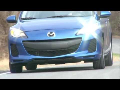 2012 Mazda MAZDA3 SkyActiv - Drive Time Review with Steve Hammes
