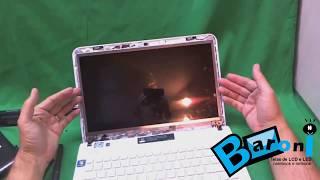 Baroni Telas ensina como trocar a tela de seu notebook Sony Vaio