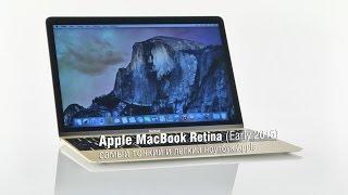 Обзор Apple MacBook Retina (Early 2015) - cамый тонкий и легкий ноутбук Apple