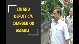 CM Arvind Kejriwal and Deputy CM Manish Sisodia  charged for alleged assault on Delhi bureaucrat - ZEENEWS