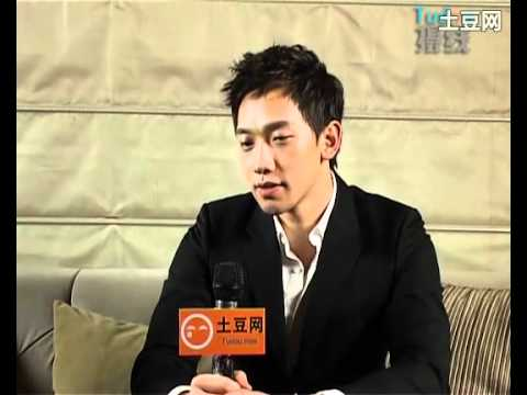 [Rain (Bi) News] 110301 Tudou_Beijing The Best Concert Press Con+Interview_02_Eating in Beijing