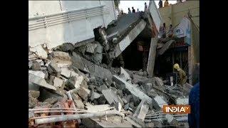 Bengaluru building collapse leaves three dead - INDIATV