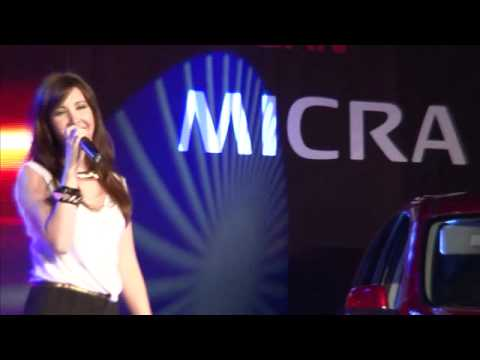 The All New Nissan Micra 2012  - Nancy Ajram Concert