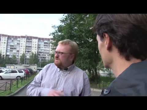 Witalij Milonow, jeden z bardziej kontrowersyjnych polityków w Rosji.