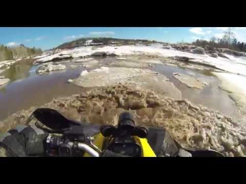 The new 2014 Renegade 1000 XXC - First Ride and First 2014 Mud